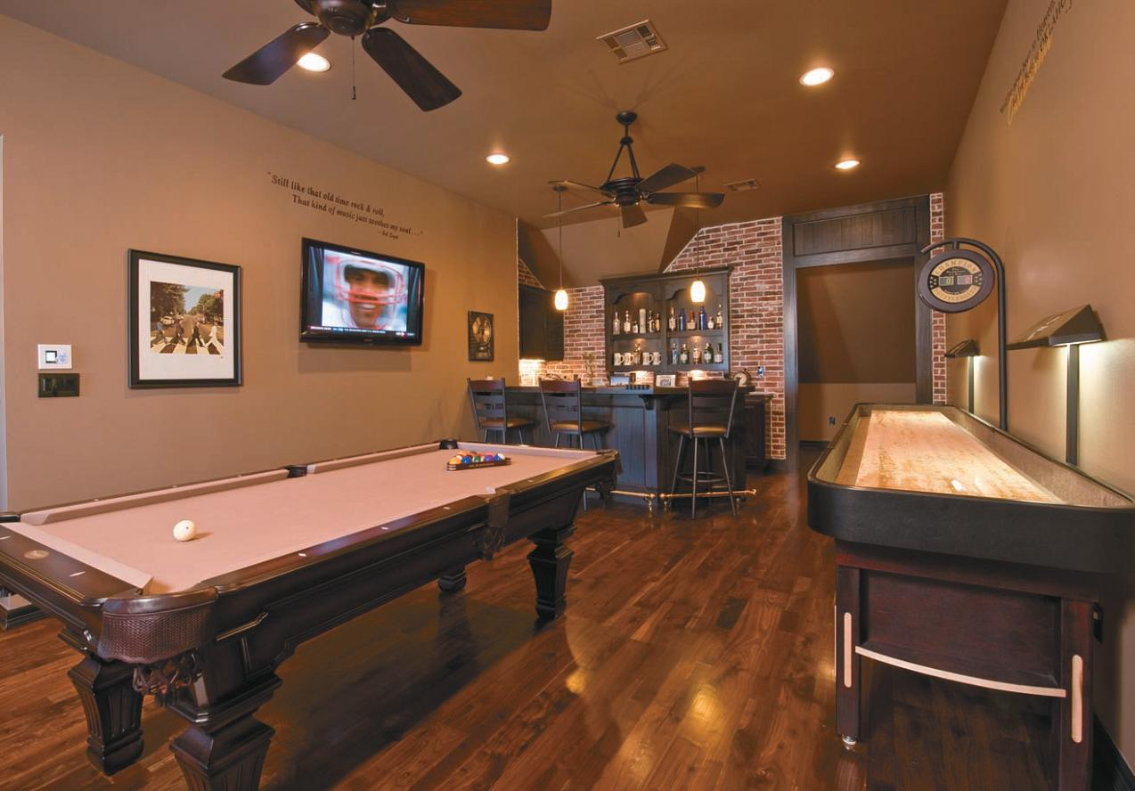 inside their homes game night and game rooms are something many of