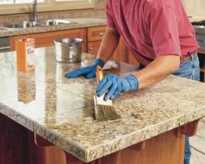 reseal stone surfaces