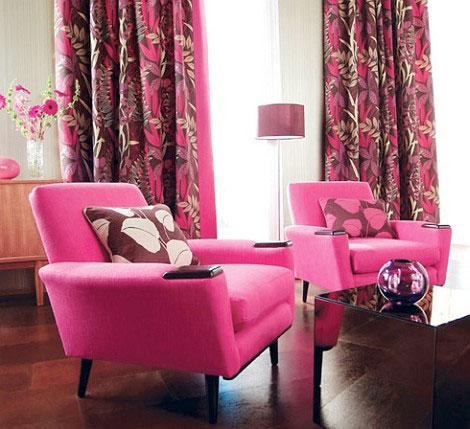 beautiful-pink-curtain-decor