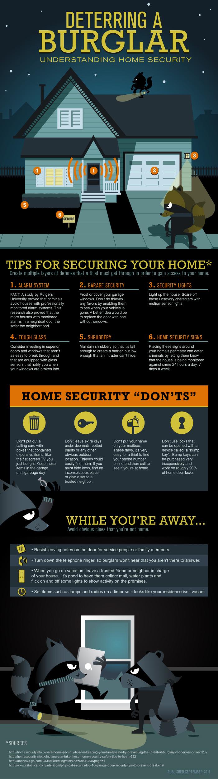 deterring-a-burglar infographic